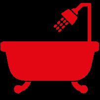 home bathroom icon